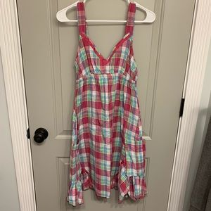 Plaid dress with pockets! Size small Delia's